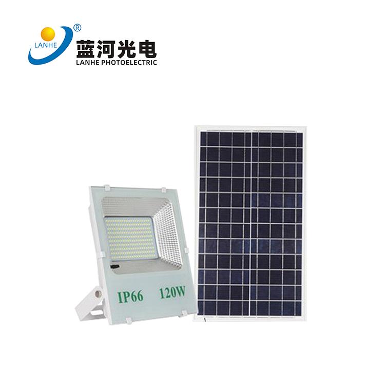 太阳能投光灯  LHD-TYN120TGD