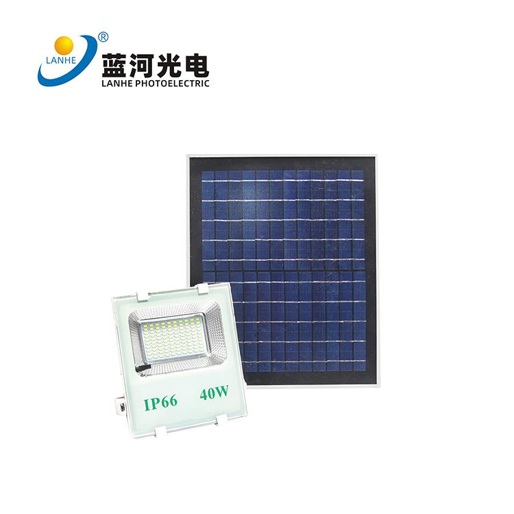 太阳能投光灯  LHD-TYN40TGD