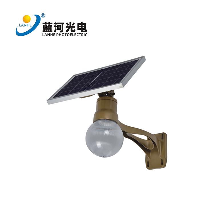 LED太阳能月光款庭院灯-LHD-TYN06YGTYD 图